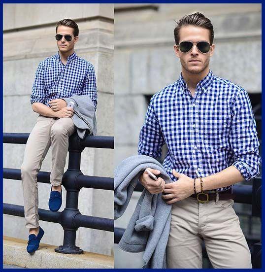 Da clic para ver todas los outfits de zapatos azules de hombre ... 4b63c9251ea6