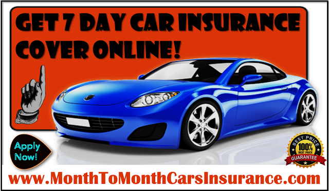 Get Cheap Auto Insurance For 7 Days With No Money Down