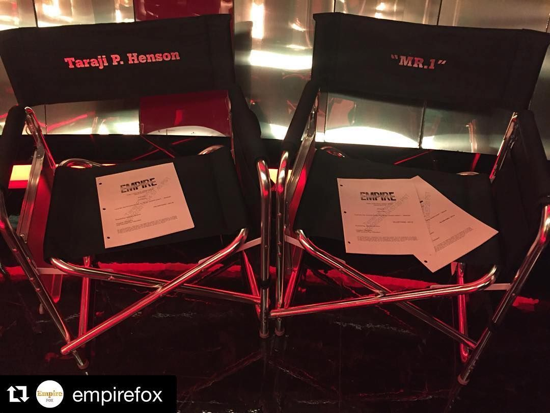 #Repost @empirefox with @repostapp.  The king and queen of #Empire are on set today! #BTS
