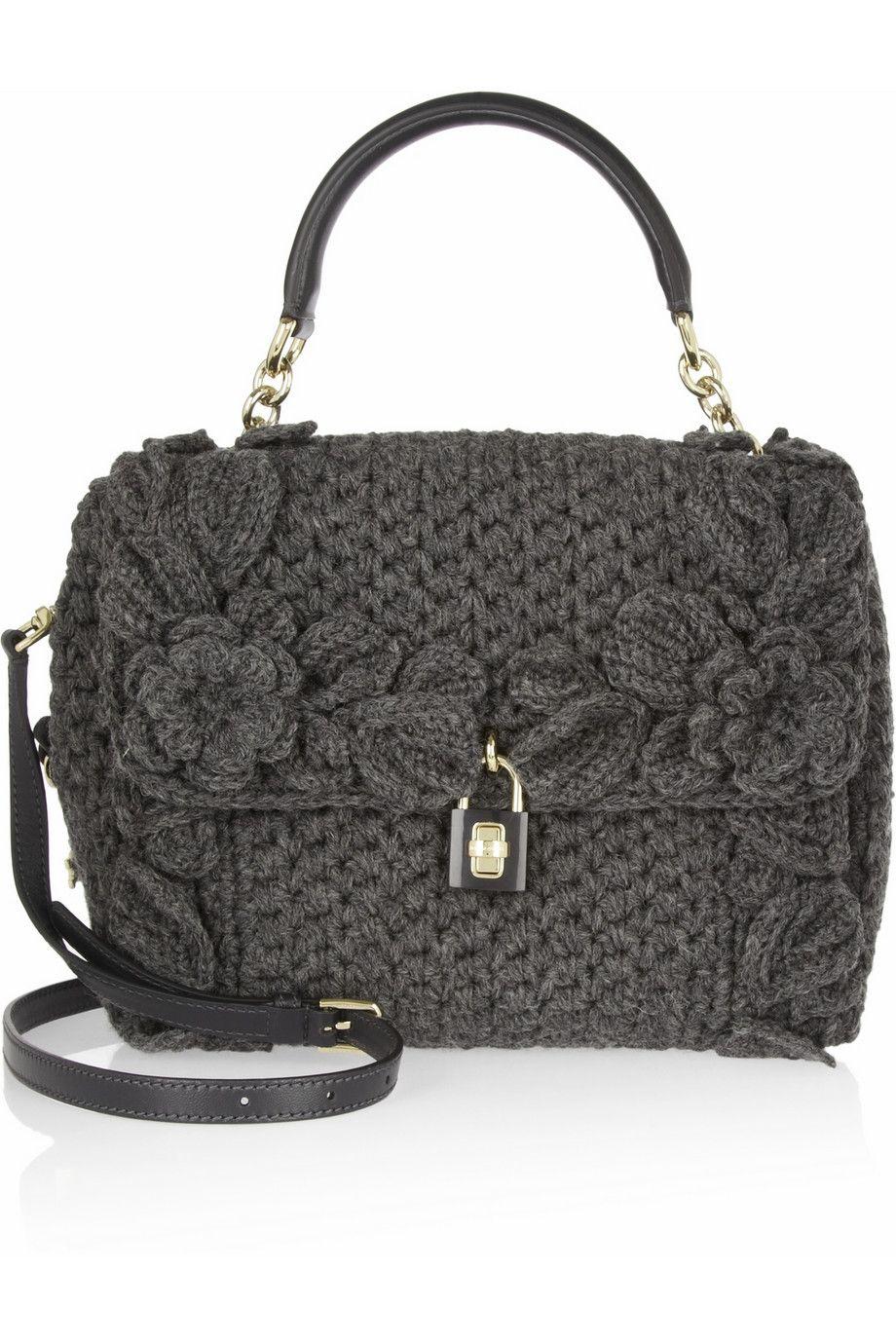 Shoulder bag Handbag Nylon leather handle black Dolce & Gabbana dwSTv