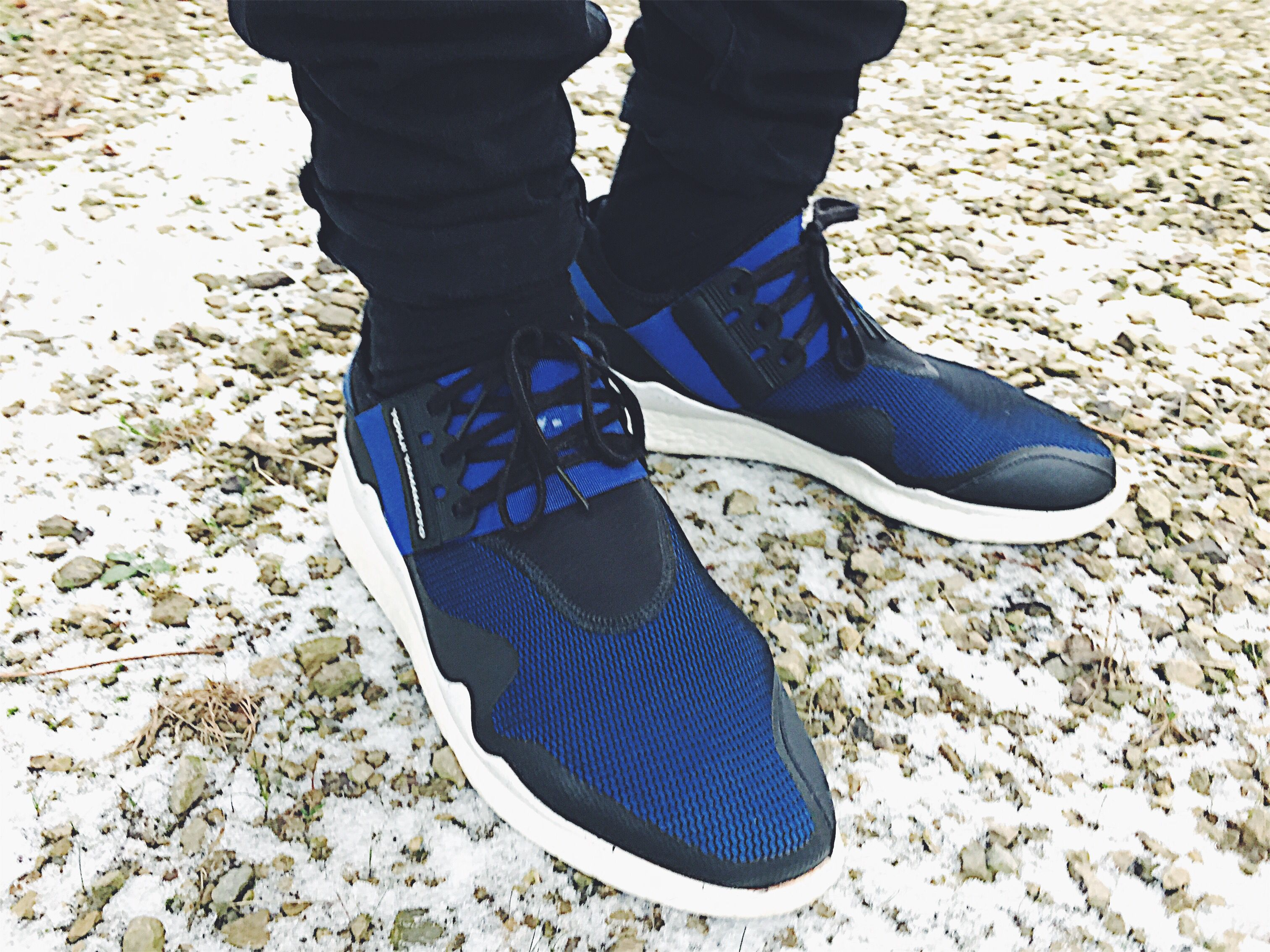 Y 3 Retro Boost Black Electric Blue