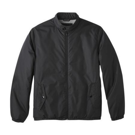 Merona Men's Filled Windbreaker Jacket - Ebony L