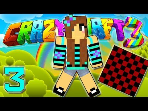 Minecraft Crazy Craft 3 0 Picking Up Girls House Decorating 3 Modded Roleplay Girl House Decor Crafts