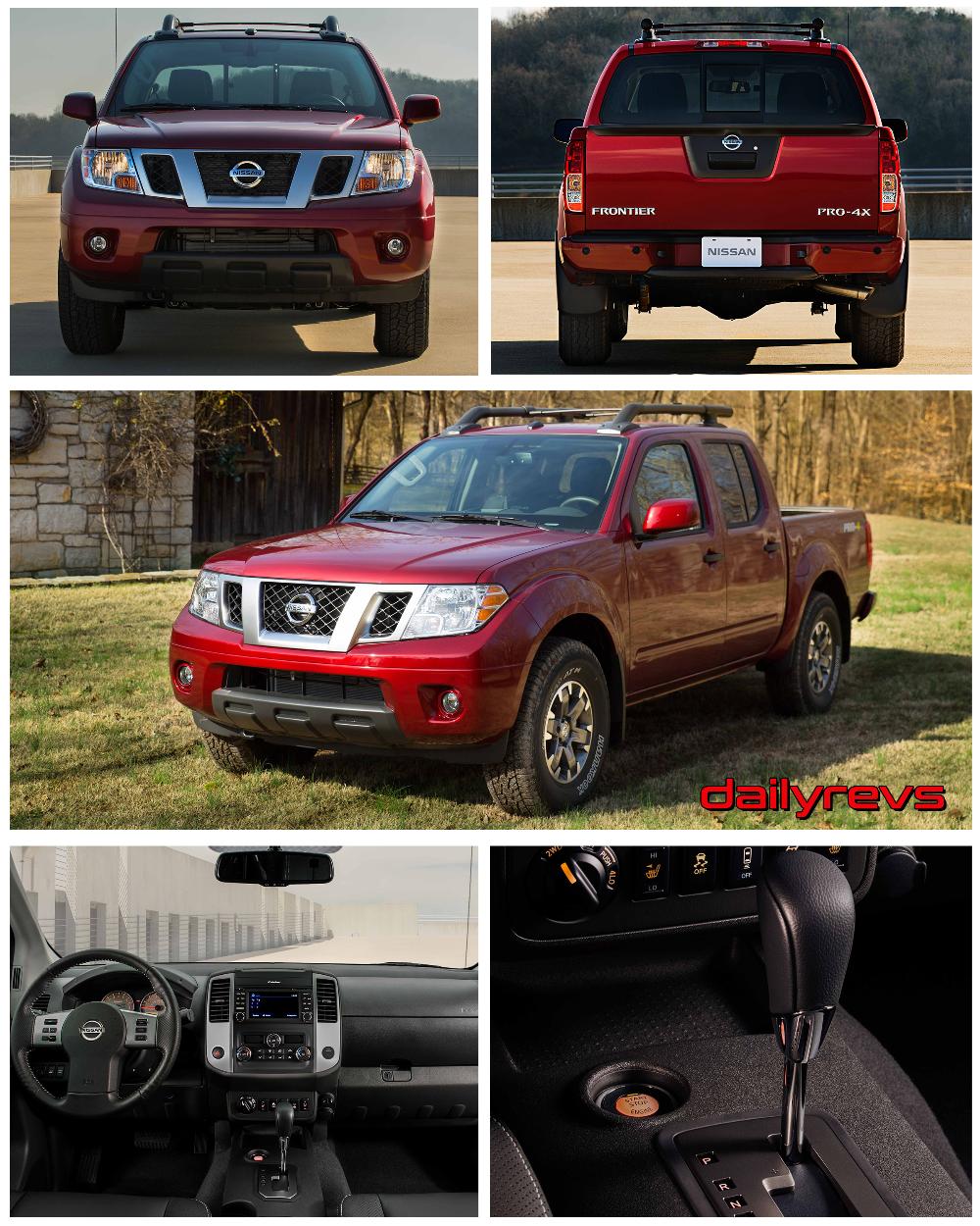 2020 Nissan Frontier HD Pictures, Videos, Specs