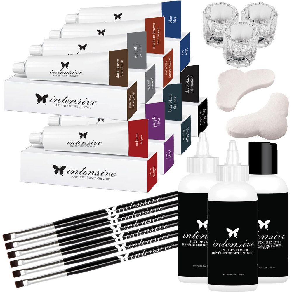d918ef6d6f5 INTENSIVE Lash & Brow Tint - Starter Kit - Made in the USA - White ...