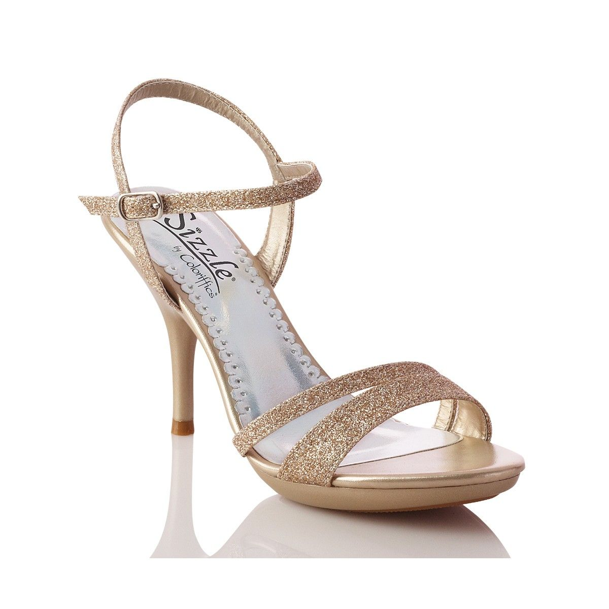 These shoes are great evening gown shoes - no chunky platform to ...