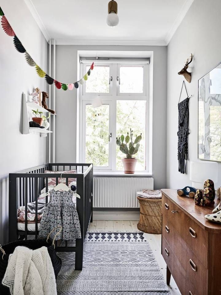 Paredes con paneles de madera Kids rooms, Scandinavian and Room