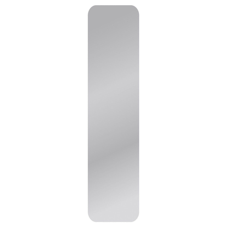 Miroir Non Lumineux Decoupe Carre Avec Coins Arrondis L 30 X L 125 Cm Poli Miroir A Coller Miroir Et Decoration Francaise