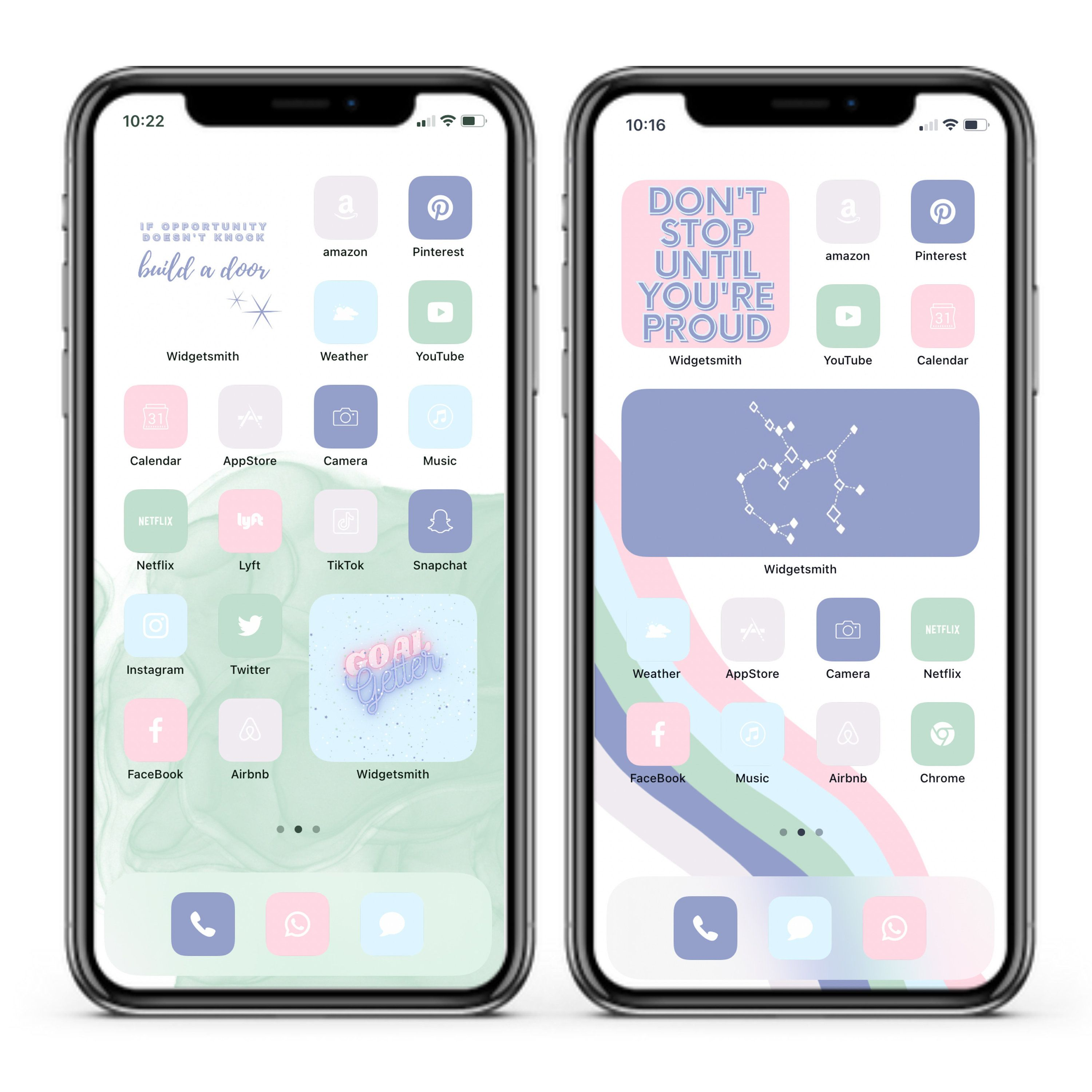 Ios14 L Pastel Icons Widgets And Backgrounds Etsy In 2021 Iphone App Layout App Background Iphone Home Screen Layout