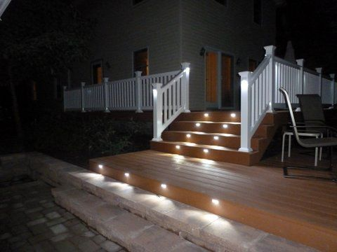 We Need This Husband Will Love Deck Lighting Stair