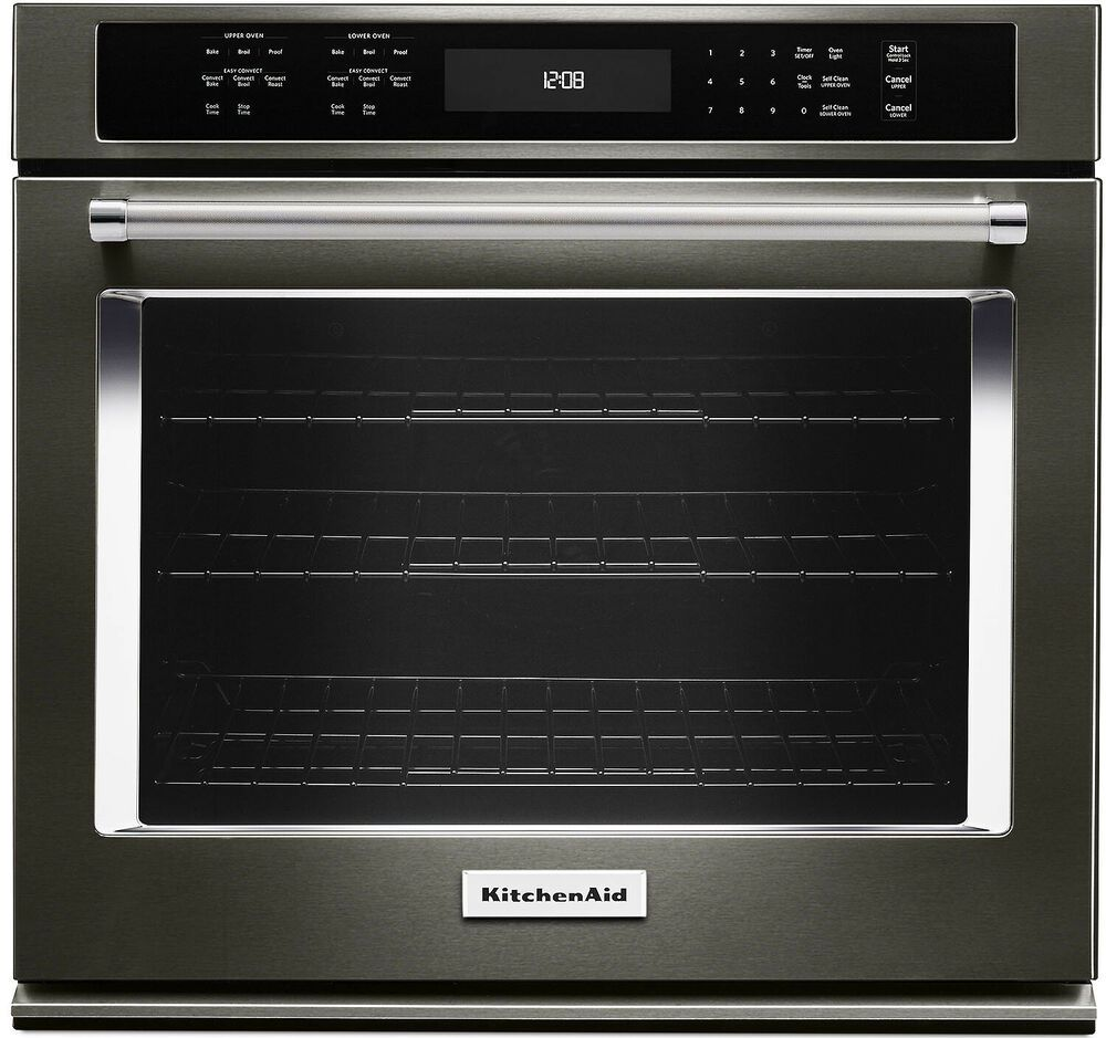 Details about kitchenaid kose507ebs 27 black stainless
