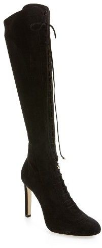 ccdde148eb Women's Jimmy Choo Desiree Lace Up Knee High Boot shopstyle.it/l/dCCU
