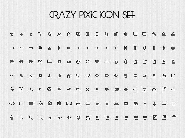 Pixic Icon Set Clean Pixel Icons For Free Art Drawing - Best of download bullet points design