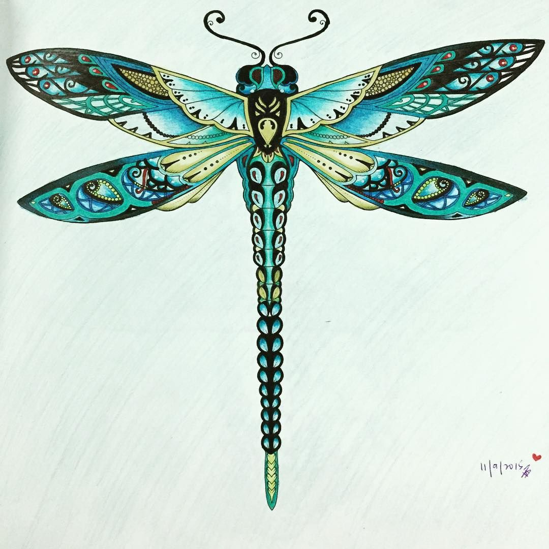 From Enchanted Forest Coloring Book By Johanna Brasford