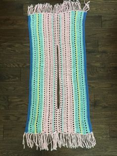 Pastel Summer Poncho  Simple Things Crochet