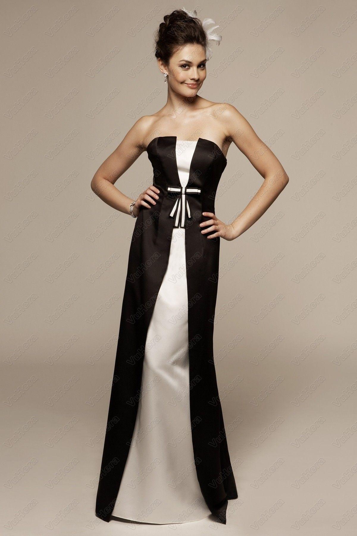 Satin strapless sheath square long prom dress prom dresses