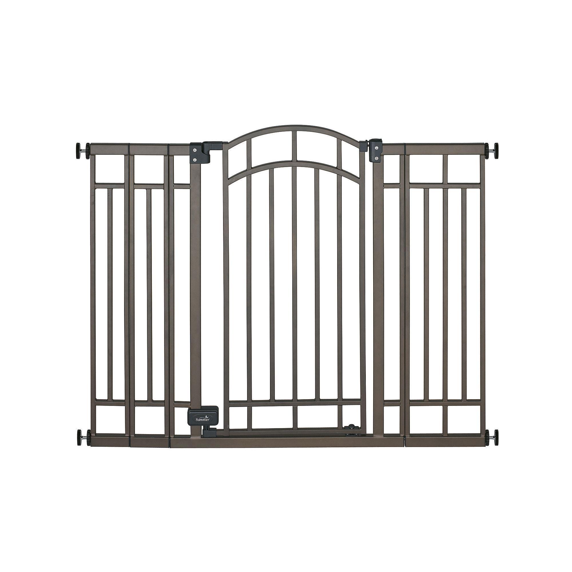 Summer Infant ExtraTall WalkThru Gate Bronze