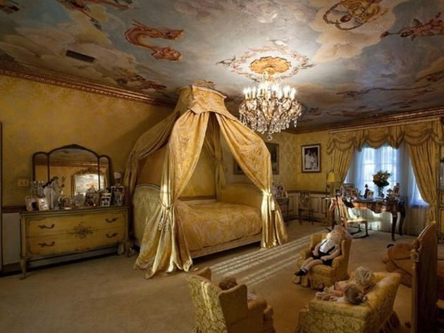 Little Princess' Bedroom Suite in the palatial Villa Vecchia Mansion in Miami, built in 1928