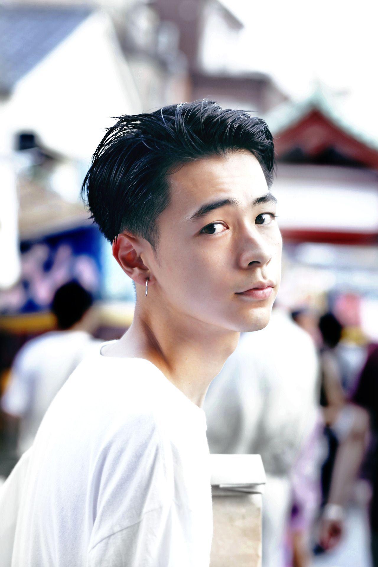 二十三 夏 成田凌 二十才 asiatische frisuren herren manner