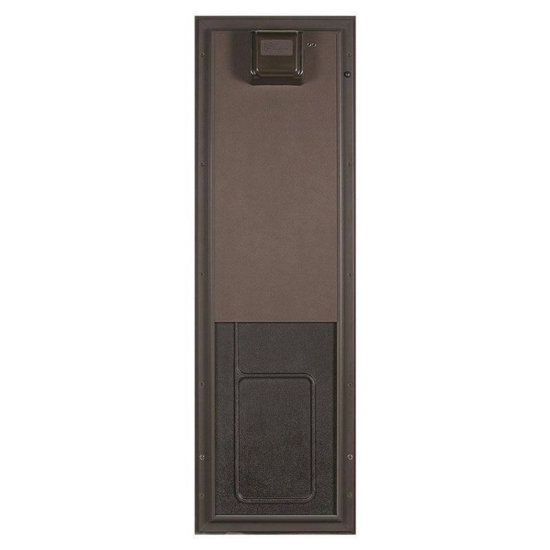 Smarthome.com: Plexidor PDE WALL LG BR Electronic RFID Pet Door, Wall Mount, Large Breed Dogs, Bronze