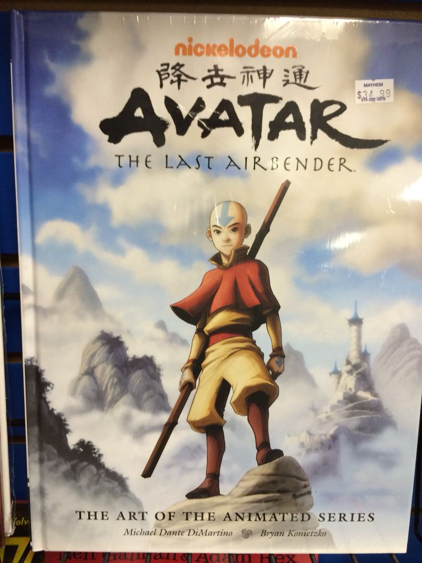 Avatar Art Book Avatar The Last Airbender Art Avatar The Last