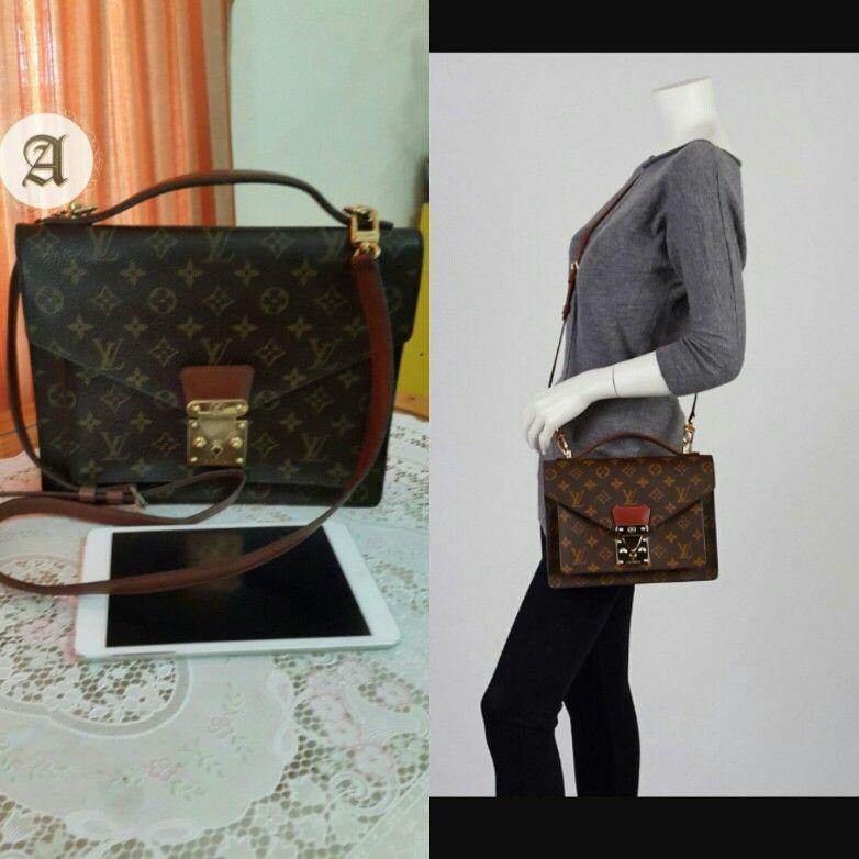 Used Authentic Louis Vuitton Vintage Monceau Sold Louisvuitton Preownedbags Authentic Or Louis Vuitton Authentic Louis Vuitton Louis Vuitton Monogram