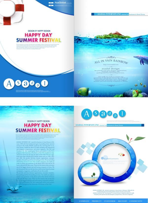 Tourism Brochure Design Psd Material  Your  Likes