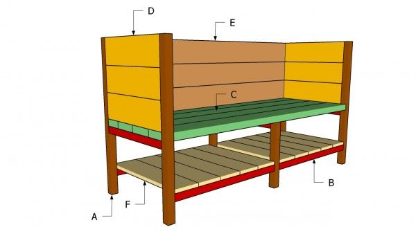 Raised Planter Box Plans | Free Outdoor Plans   DIY Shed, Wooden Playhouse,  Bbq