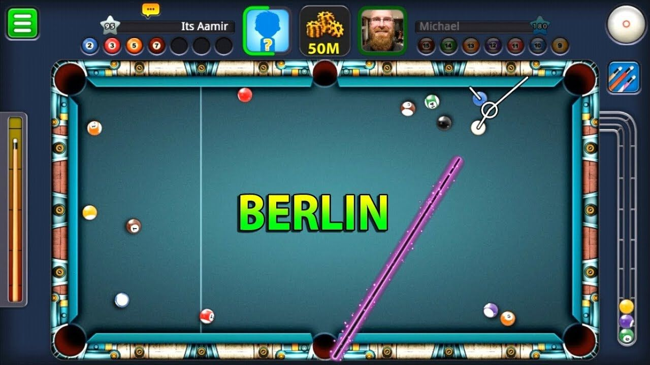 8 ball pool play 50M give away coins cash tricks cues and ... -