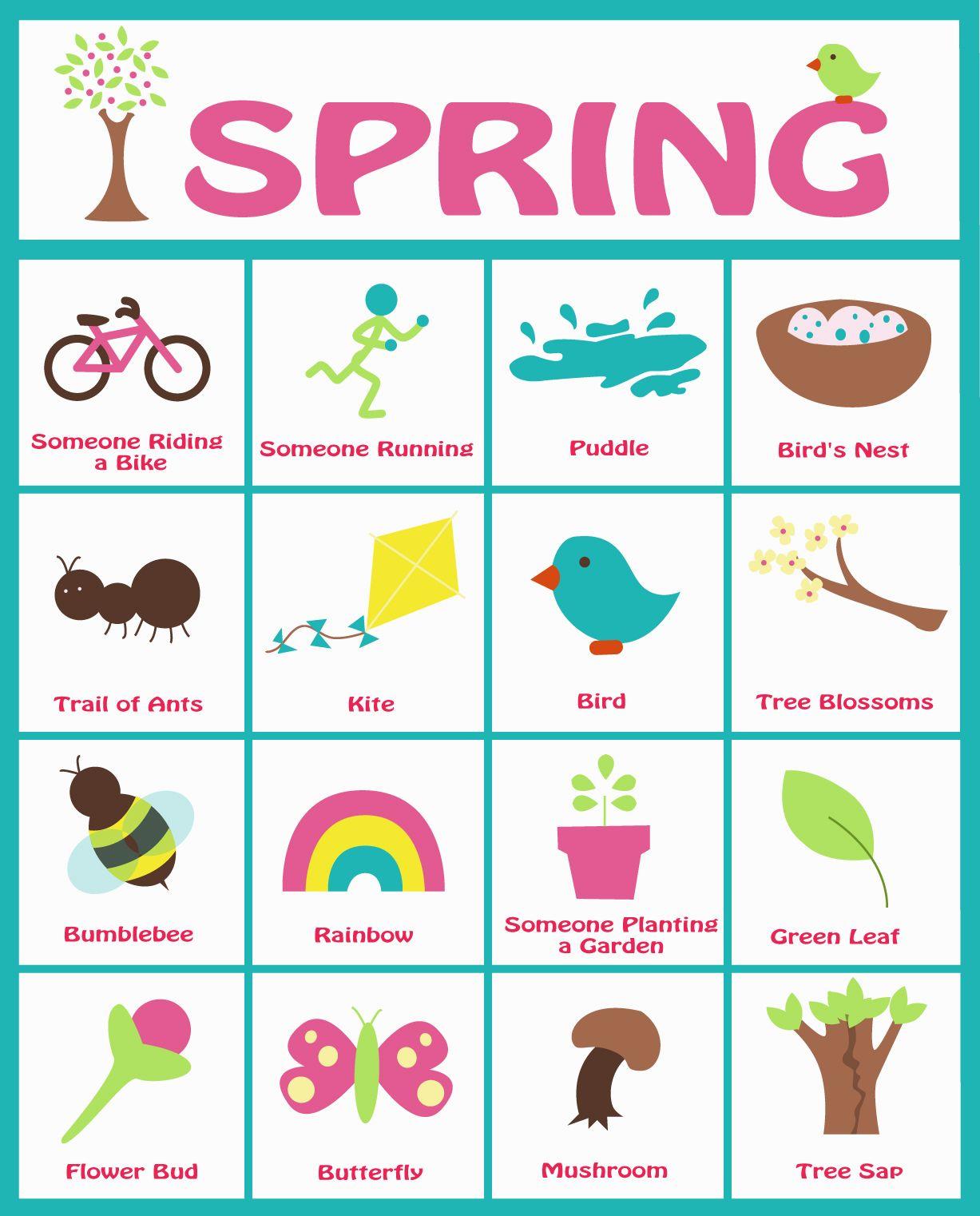 Spring Bingo Walk