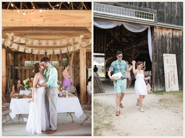 Rustic Barn Wedding on a Budget | Budget wedding, Rustic ...
