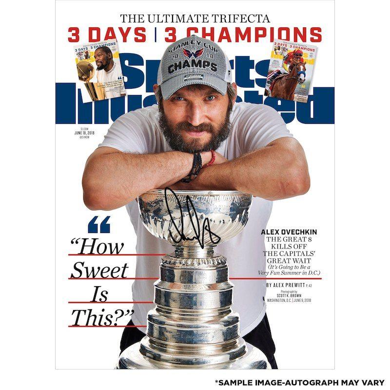Alex Ovechkin Washington Capitals Fanatics Authentic 2018 Stanley Cup  Champions Autographed 16