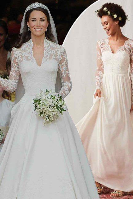 Kate Middletons wedding dress has inspired a H&M bridal gown that ...