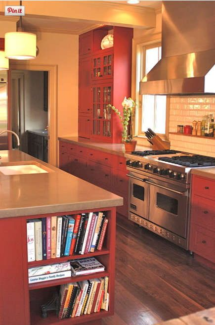 red country kitchens. Unique Country Red Country Kitchens  Colorado Family Kitchen With Cabinets Island And  Range Wall Pepper Bath Via Atticmag And Red Country Kitchens C