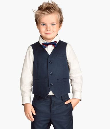 H M Suit Vest 24 95 Schwarzer Anzug Hochzeit Kinder Anzug Anzug Hochzeit