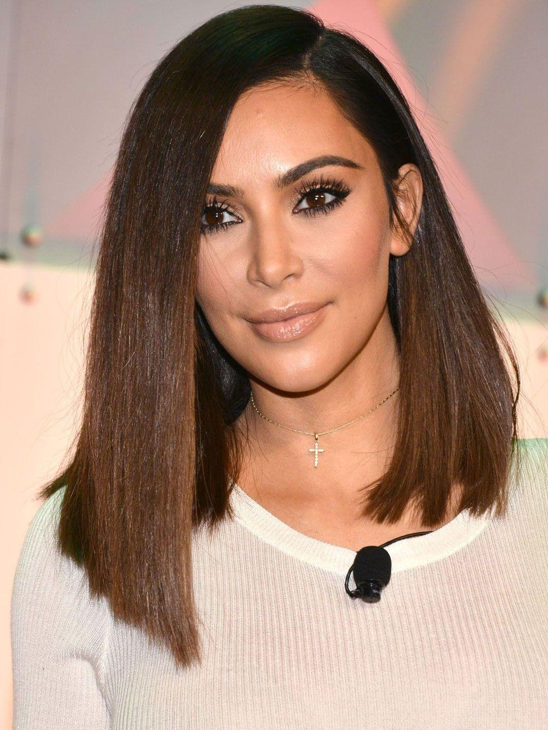 Pin By Fashion Tattoos Hair On Bob Hairstyles Medium Bob Hairstyles Long Bob Hairstyles Kim Kardashian Hair