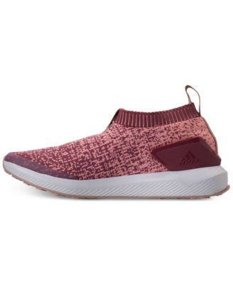 online retailer d58a9 98ae3 adidas Girls  RapidaRun Laceless Running Sneakers from Finish Line - Red 4.5