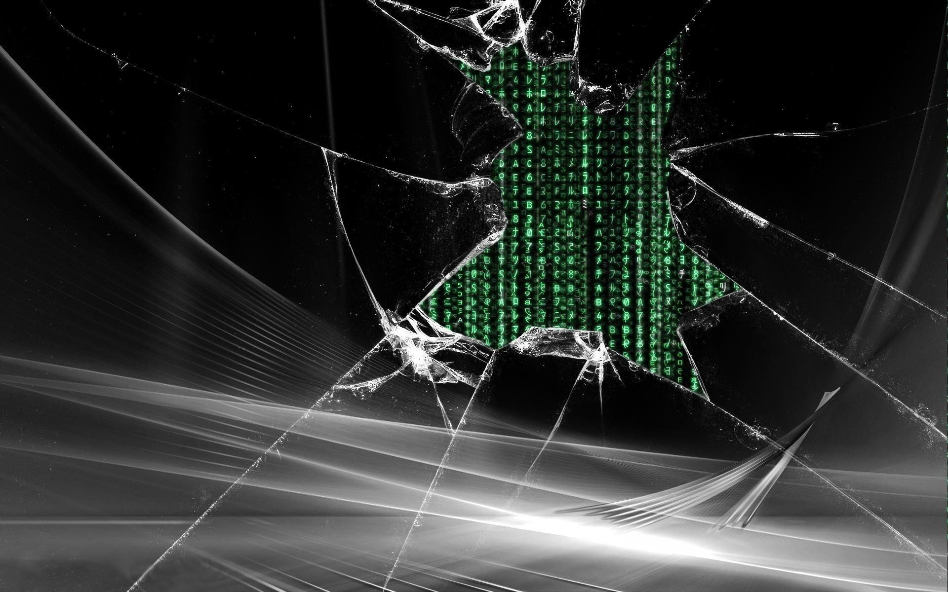 broken screen matrix wallpaper best wallpaper hd