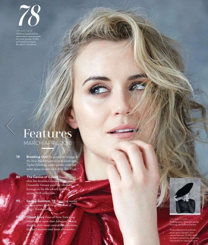 Pin by Rachelle Cabrera on OITNB in 2019 | Taylor ...Taylor Schilling Girlfriend 2019