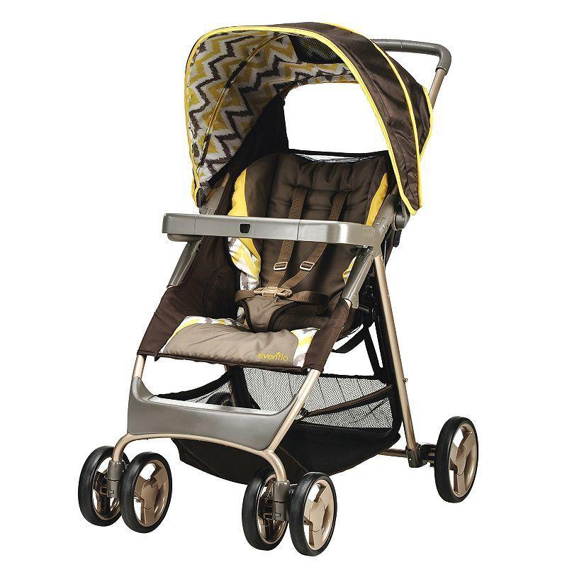 Evenflo Flexlite LX Stroller, Brown Baby strollers