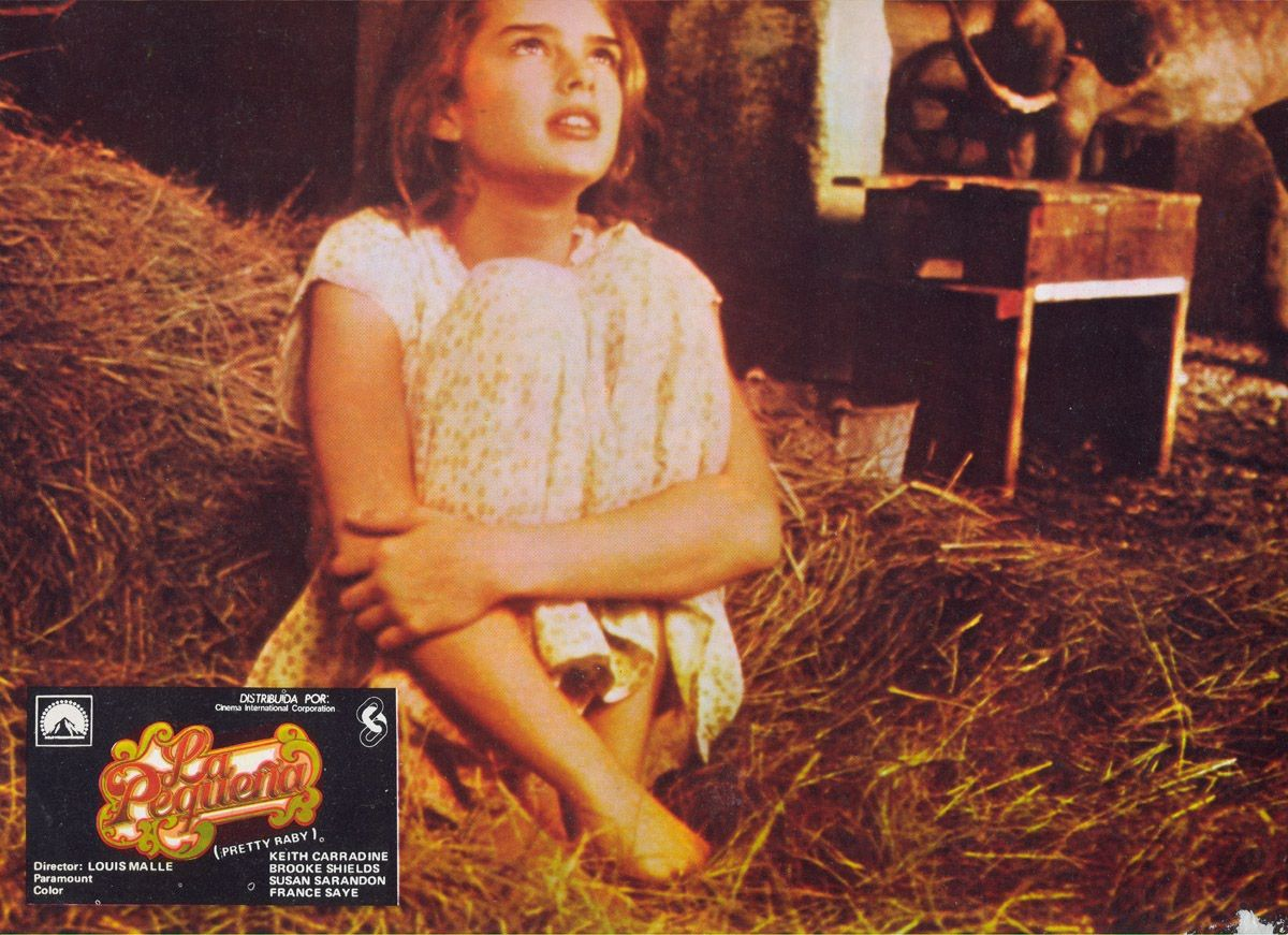 Brooke Shields Pretty Baby  Louis Malle Movies -4133