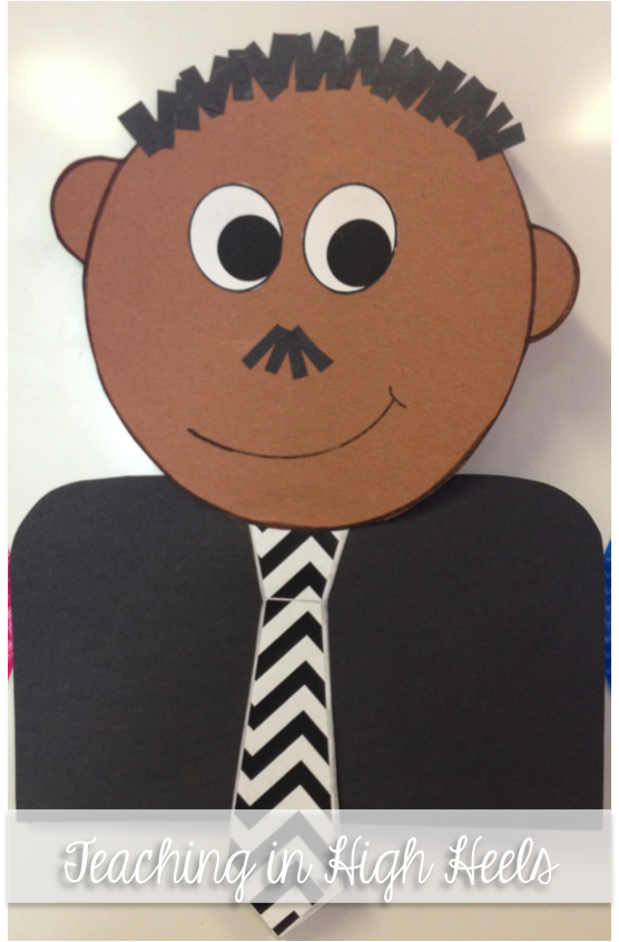 Celebrating Dr King A Craftivity For Little Learners Freebie