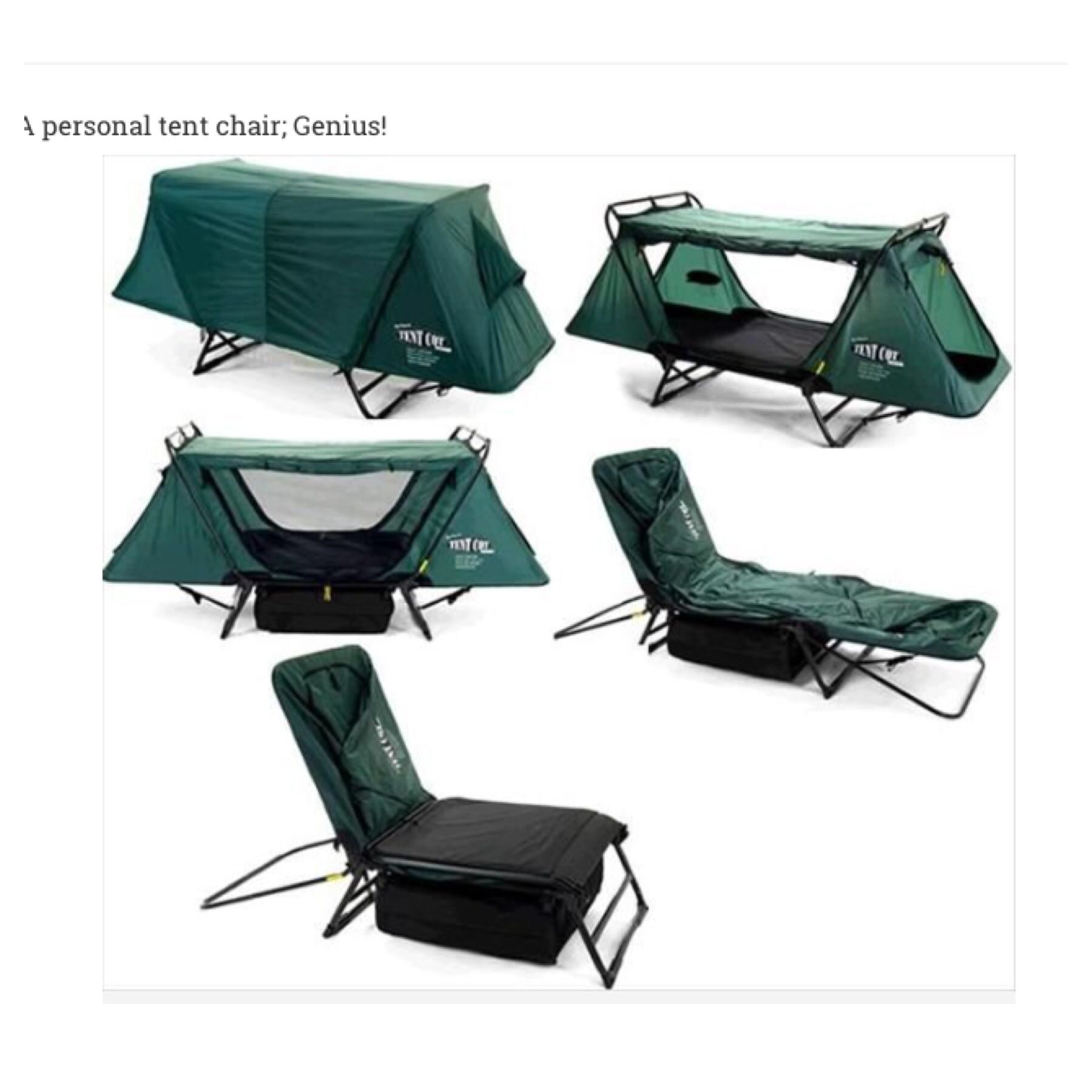 Simply Awesome Camping Chair