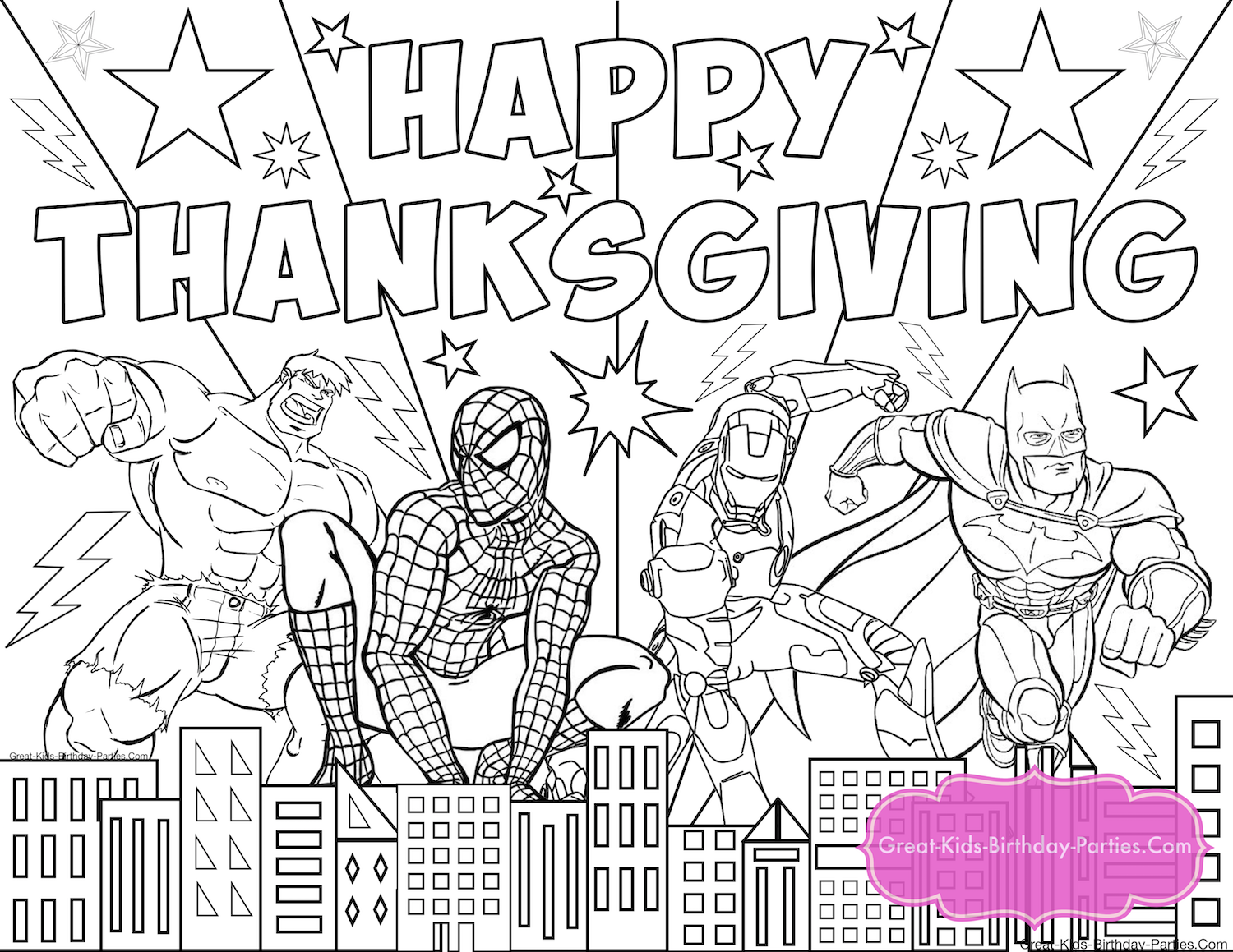 Thanksgiving Coloring Pages | Free thanksgiving printables ...