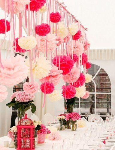 20 tissue paper pompoms kit wedding decorations your color 20 tissue paper pompoms kit wedding decorations your color choice by deco pompoms junglespirit Gallery