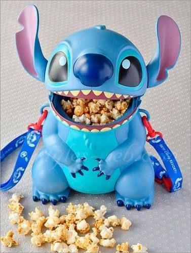 USED Disney Stitch Popcorn Bucket TDR Japan F/S  | eBay #stitchdisney