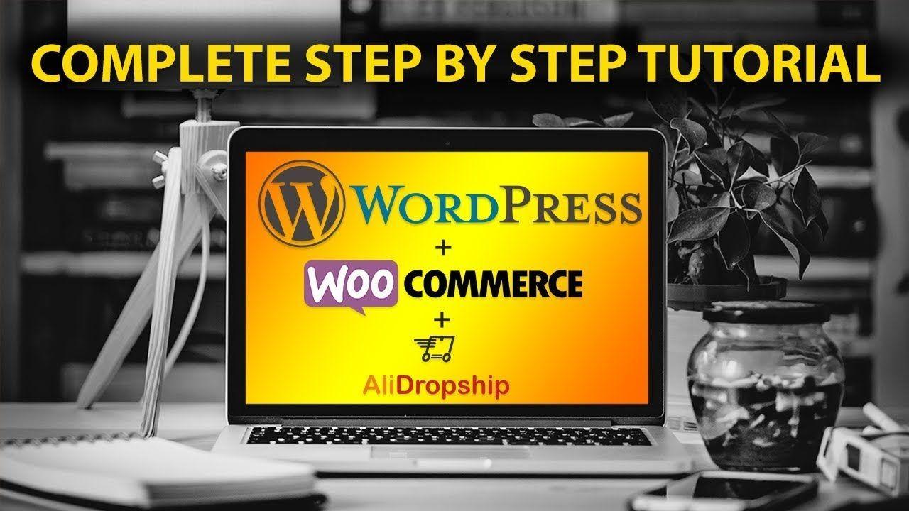 Dropshipping Tutorial For Beginners - WordPress, AliDropship