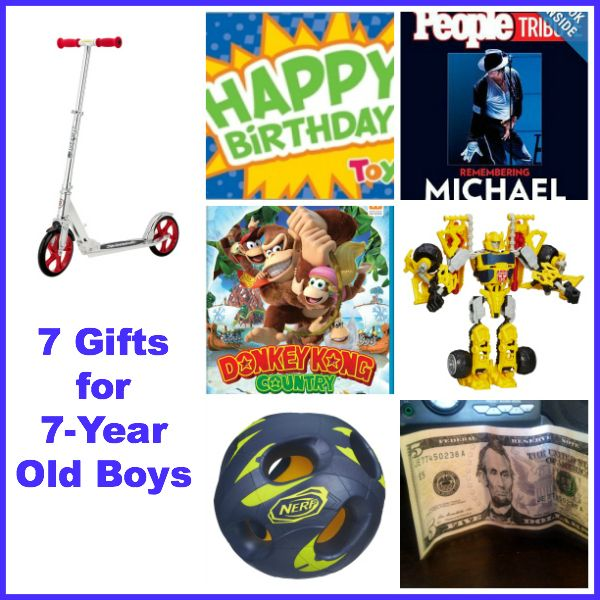 7 Gift Ideas For Year Old Boys They Were All Hits With My Son His Birthday This Past Weekend