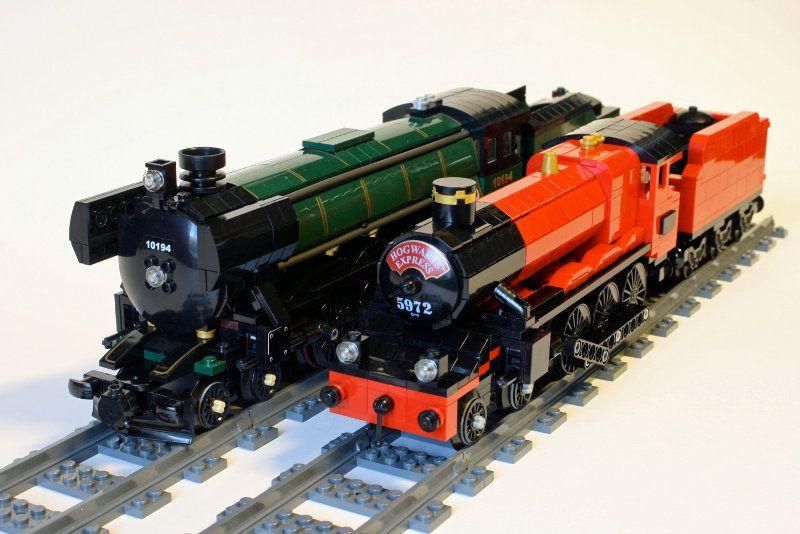 Pin Auf Lego Trains