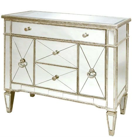 Antique Style Venetian Mirrored Sideboard Mirrored Sideboard French Furniture Bedroom High Gloss Furniture
